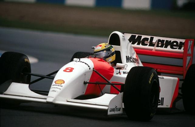 セナがモナコで最後に勝利した「MP4/8A」、オークションに出品