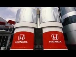 ガスリー、ホンダの新しいモーターホームを見学
