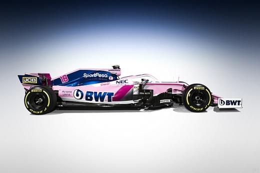 レーシング・ポイント、2019年カラーリングをお披露目