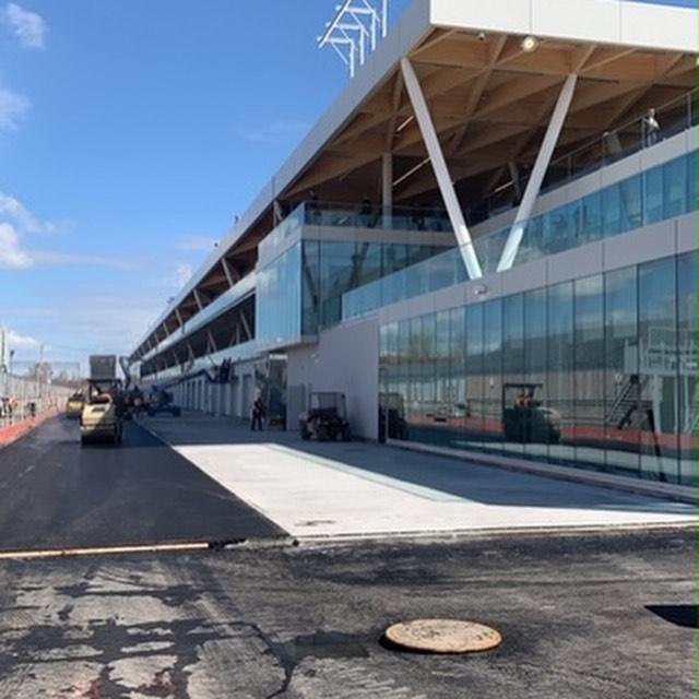 モントリオール、新しいピットビルが完成