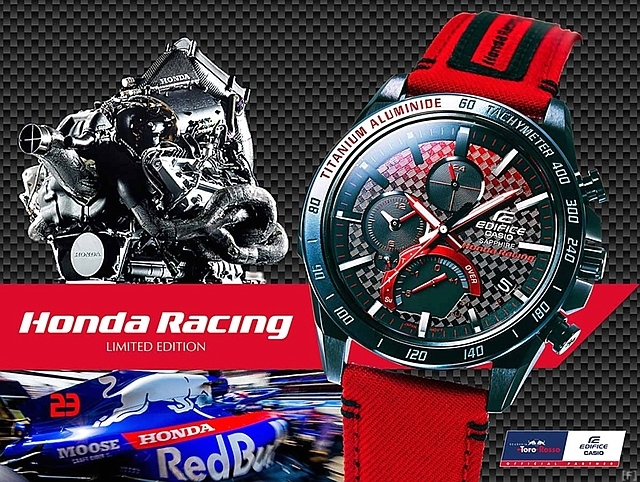 カシオ、「Honda Racing」コラボレーションモデル発売