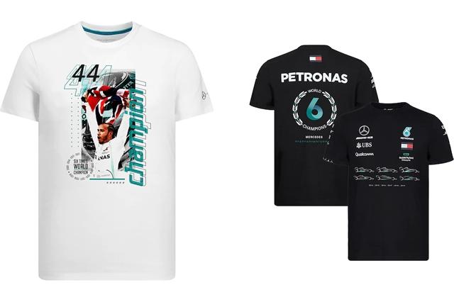 F1公式ストア、メルセデスAMG&ハミルトンのタイトル記念グッズを販売開始
