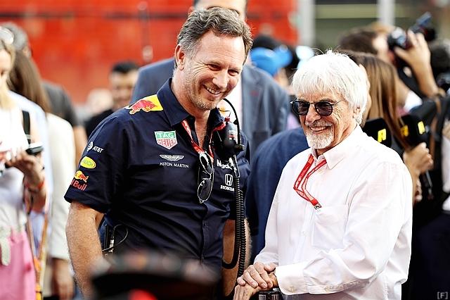 エクレストン、F1公式ポッドキャストに登場