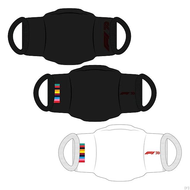F1公式マスク、発売へ