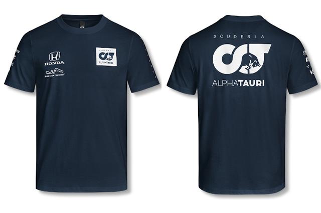 鈴鹿サーキット、アルファタウリとのコラボTシャツ