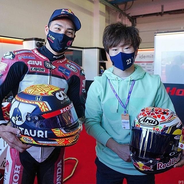 裕毅、MotoGPを表敬訪問